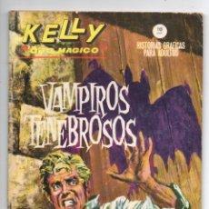 Cómics: KELLY OJO MÁGICO Nº 6 - VAMPIROS TENEBROSOS - VERTICE GRAPA. Lote 143624990
