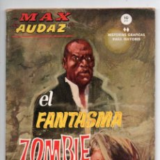 Cómics: MAX AUDAZ Nº 8 - EL FANTASMA ZOMBIE - VERTICE GRAPA. Lote 143626530