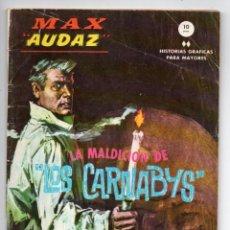 Cómics: MAX AUDAZ Nº 12 - LA MALDICIÓN DE LOS CARNABYS - VERTICE GRAPA. Lote 143626778