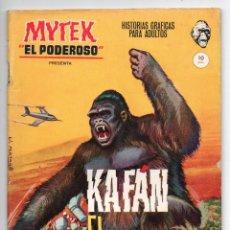 Cómics: MYTEK EL PODEROSO Nº 6 - KAFÁN EL INVENCIBLE - VERTICE GRAPA. Lote 143628894