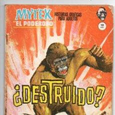 Cómics: MYTEK EL PODEROSO Nº 10 - ¿DESTRUIDO? - VERTICE GRAPA. Lote 143629274