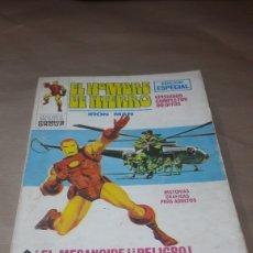 Cómics: EL HOMBRE DE HIERRO IRON MAN MARVEL 1971 EDICIÓN ESPECIAL ! EL MECANOIDE ! ¡PELIGRO!. Lote 143658665