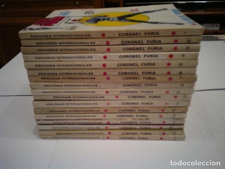 CORONEL FURIA - VERTICE - VOLUMEN 1 - COLECCION COMPLETA -17 NUMEROS - MUY BUEN ESTADO -- CJ 114 (Tebeos y Comics - Vértice - Furia)