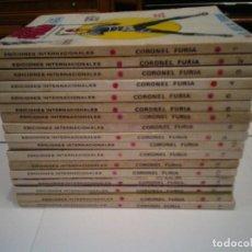 Cómics: CORONEL FURIA - VERTICE - VOLUMEN 1 - COLECCION COMPLETA -17 NUMEROS - MUY BUEN ESTADO - GORBAUD. Lote 143857878