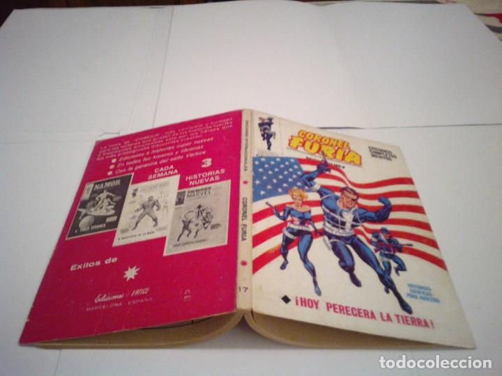 Cómics: CORONEL FURIA - VERTICE - VOLUMEN 1 - COLECCION COMPLETA -17 NUMEROS - MUY BUEN ESTADO -- cj 114 - Foto 120 - 143857878