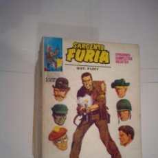 Cómics: SARGENTO FURIA - VERTICE - VOLUMEN 1 - COLECCION COMPLETA -27 NUMEROS - MUY BUEN ESTADO - GORBAUD. Lote 143861390