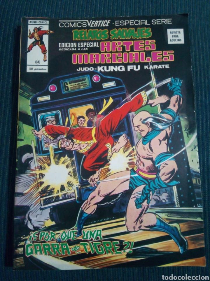 RELATOS SALVAJES 44 ARTES MARCIALES VERTICE (Tebeos y Comics - Vértice - Relatos Salvajes)