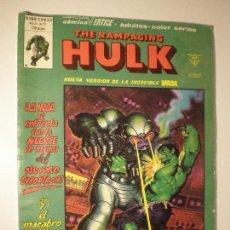 Cómics: THE RAMPAGING HULK - VOL 1 Nº 12 - VERTICE 1980 // LA MASA MARVEL MOENCH RON WILSON ALFREDO ALCALA. Lote 144206802
