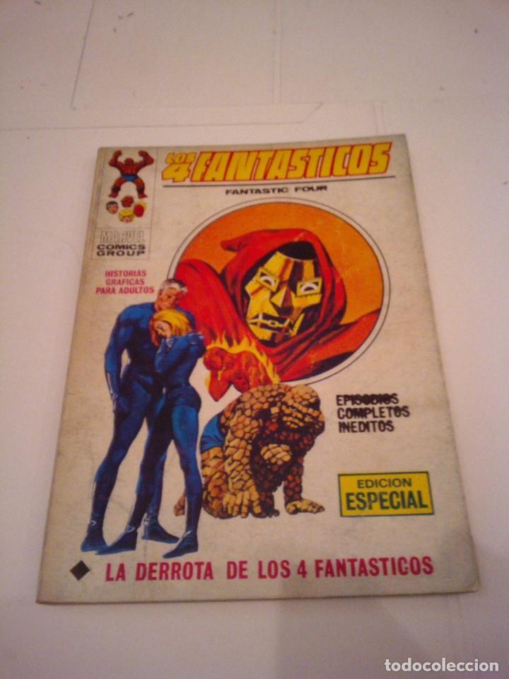 LOS 4 FANTASTICOS - VERTICE - VOLUMEN 1 - NUMERO 28 - BUEN ESTADO . CJ 99 - GORBAUD (Tebeos y Comics - Vértice - 4 Fantásticos)