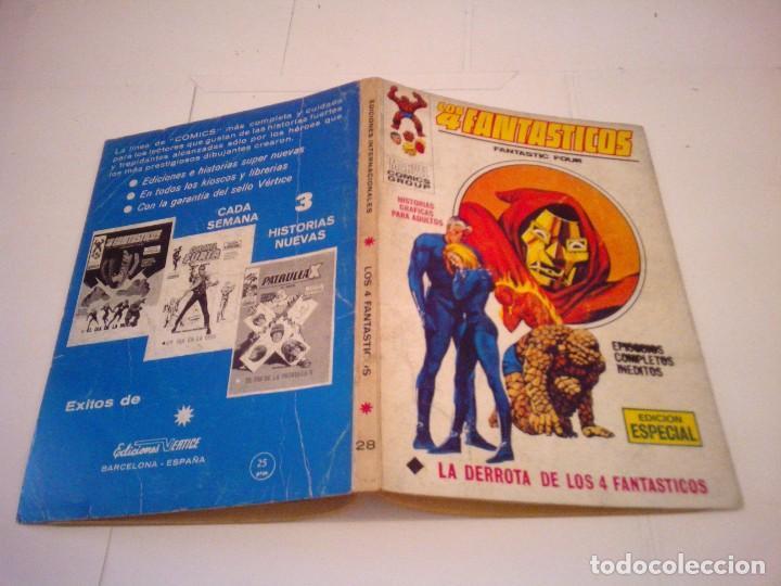 Cómics: LOS 4 FANTASTICOS - VERTICE - VOLUMEN 1 - NUMERO 28 - BUEN ESTADO . CJ 99 - GORBAUD - Foto 5 - 144788370