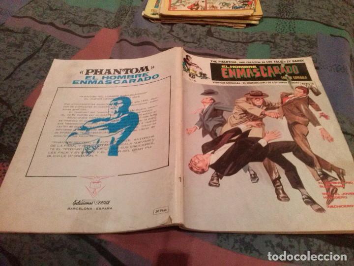 EL HOMBRE ENMASCARADO Nº 4 EL JOVEN HEREDERO VOL. 1 -- VERTICE (Tebeos y Comics - Vértice - Hombre Enmascarado)