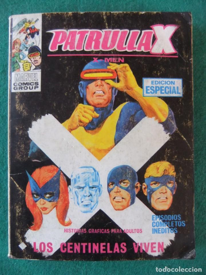 PATRULLA X Nº 27 LOS CENTINELAS VIVEN VERTICE TACO (Tebeos y Comics - Vértice - V.1)