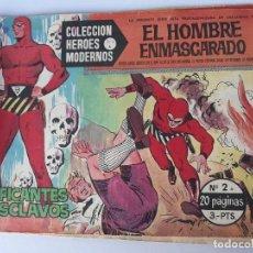 Cómics: EL HOMBRE ENMASCARADO Nº 2 (TRAFICANTE DE ESCLAVOS ). Lote 145097490