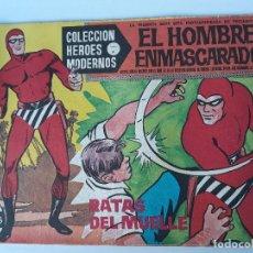 Cómics: EL HOMBRE ENMASCARADO Nº 4 ( RATAS DE MUELLE ) AÑO 1958. Lote 145097794