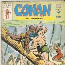 Cómics: CONAN EL BARBARO VOL2 Nº 34 40 PTS.1975. EL DIABLO TIENE MUCHAS PATAS - VERTICE. Lote 145132242