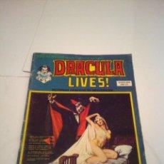 Cómics: ESCALOFRIO - NUMERO 7 - DRACULA LIVES - NUMERO 2 - VERTICE - VOLUMEN 1 - BE - GORBAUD. Lote 145313430