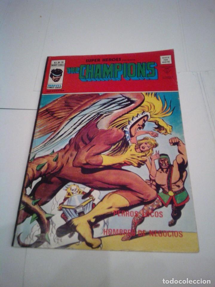 SUPER HEROES - VERTICE - VOLUMEN 2 - NUMERO 75 - GORBAUD - CJ 99 (Tebeos y Comics - Vértice - Super Héroes)