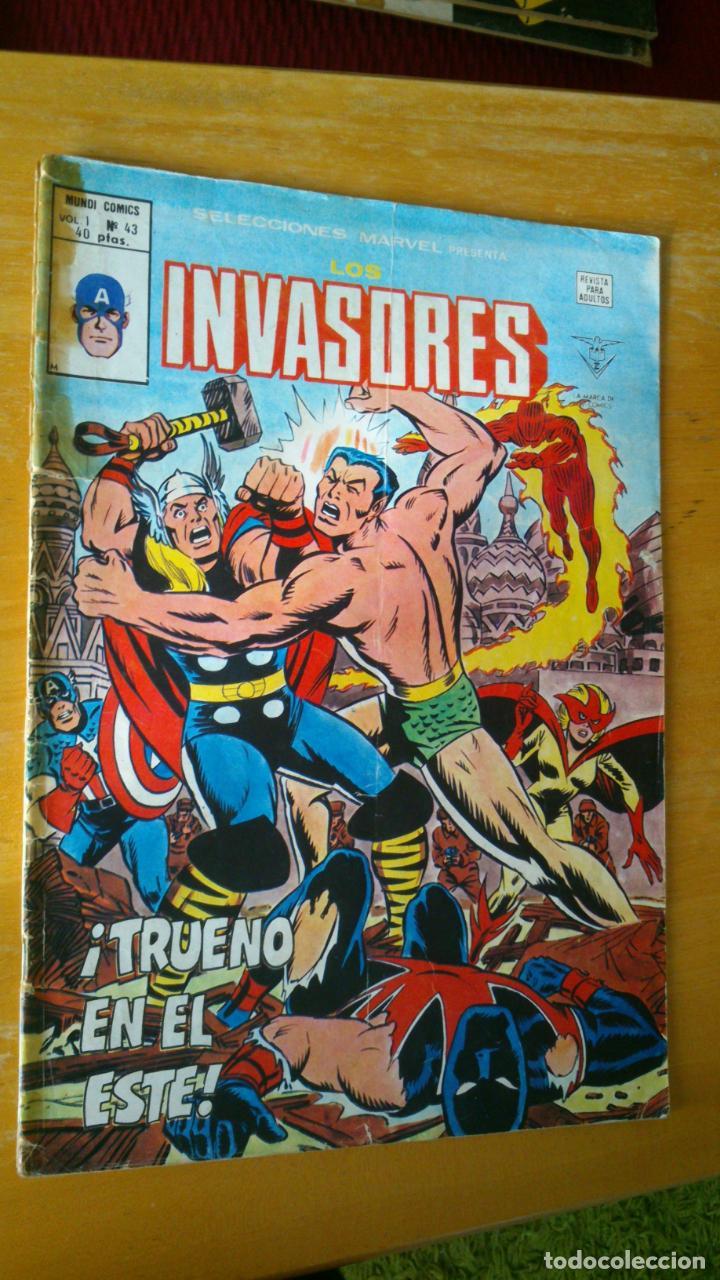 VERTICE. SELECCIONES MARVEL V-1 Nº43. INVASORES (Tebeos y Comics - Vértice - Otros)