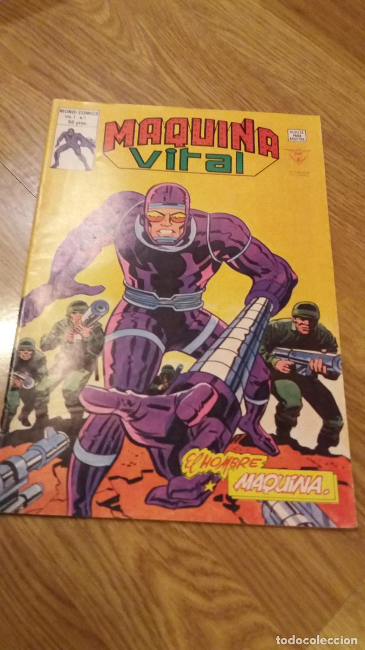 VERTICE. MAQUINA VITAL Nº1 (Tebeos y Comics - Vértice - Otros)