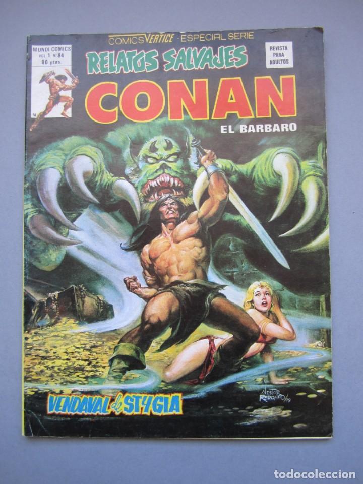 RELATOS SALVAJES (1974, VERTICE) 84 · 30-XII-1980 · VENDAVAL DE STYGIA (Tebeos y Comics - Vértice - Relatos Salvajes)