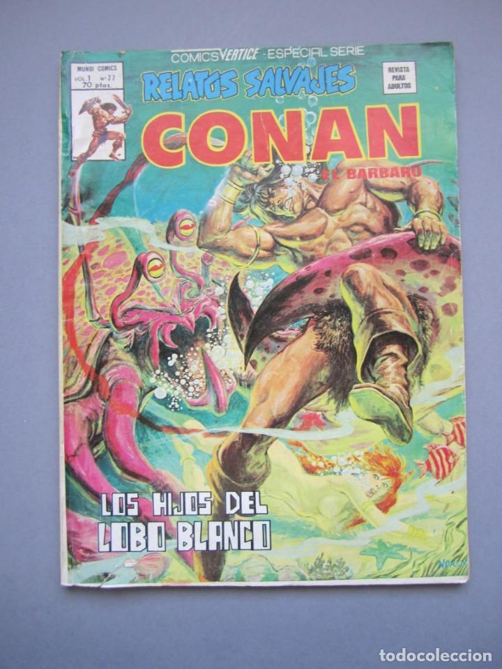 RELATOS SALVAJES (1974, VERTICE) 77 · 15-IV-1980 · LOS HIJOS DEL LOBO BLANCO (Tebeos y Comics - Vértice - Relatos Salvajes)