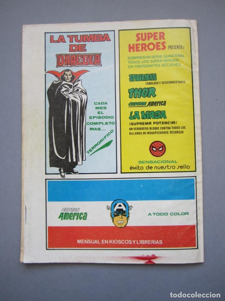 Cómics: RELATOS SALVAJES (1974, VERTICE) 77 · 15-IV-1980 · LOS HIJOS DEL LOBO BLANCO - Foto 2 - 145555818