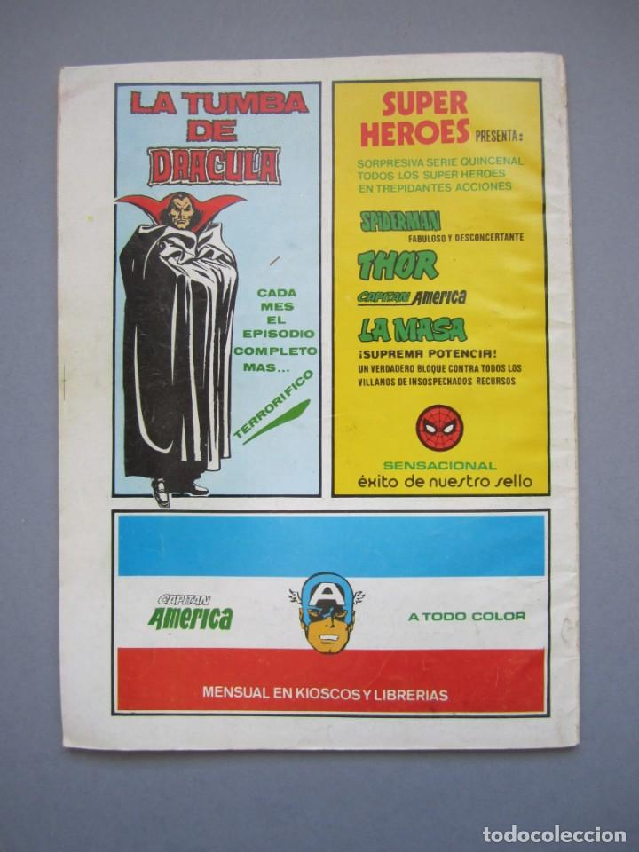 Cómics: RELATOS SALVAJES (1974, VERTICE) 76 · 30-III-1980 · HALCONES SOBRE SHEM - Foto 2 - 145555834