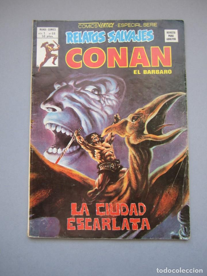 RELATOS SALVAJES (1974, VERTICE) 68 · 30-XI-1979 · LA CIUDAD ESCARLATA (Tebeos y Comics - Vértice - Relatos Salvajes)