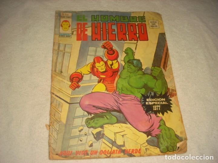 EL HOMBRE DE HIERRO. EDICION ESPECIAL 1977. (Tebeos y Comics - Vértice - Hombre de Hierro)
