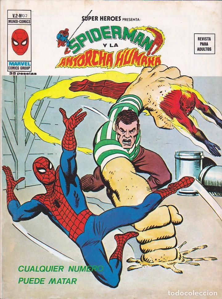 COMIC COLECCION SUPER HEROES VOL.2 Nº 32 (Tebeos y Comics - Vértice - Super Héroes)