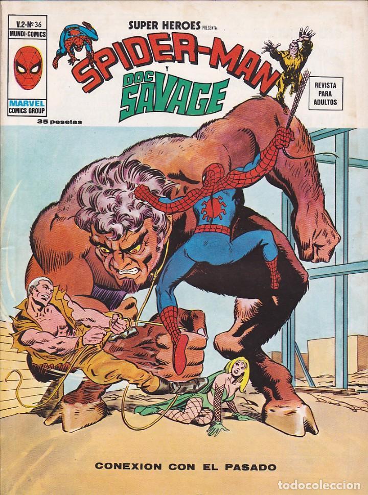 COMIC COLECCION SUPER HEROES VOL.2 Nº 36 (Tebeos y Comics - Vértice - Super Héroes)