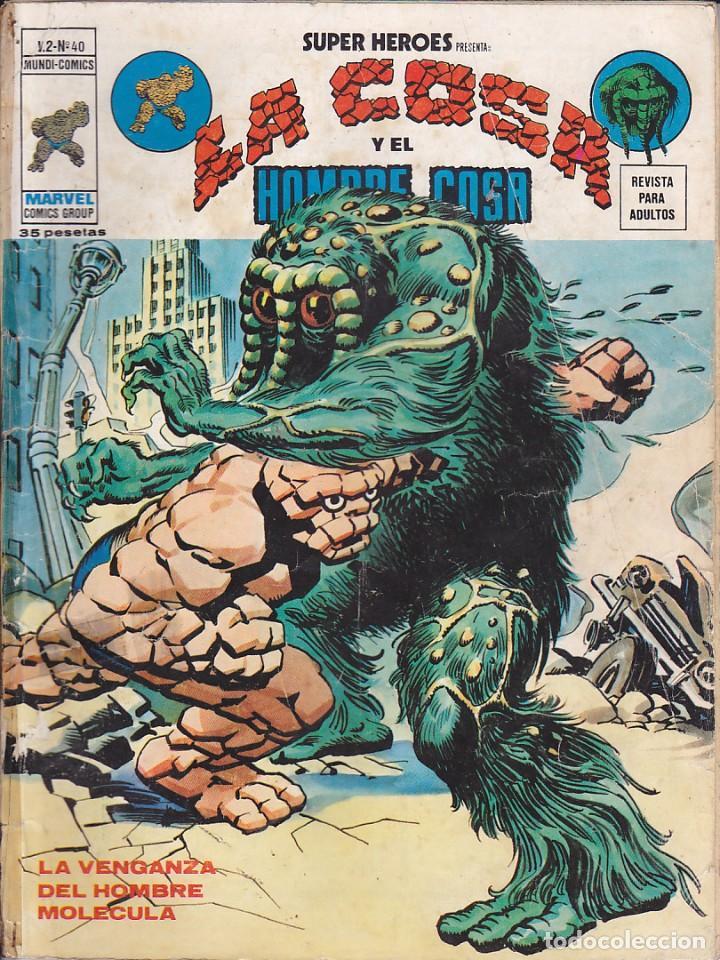 COMIC COLECCION SUPER HEROES VOL.2 Nº 40 (Tebeos y Comics - Vértice - Super Héroes)