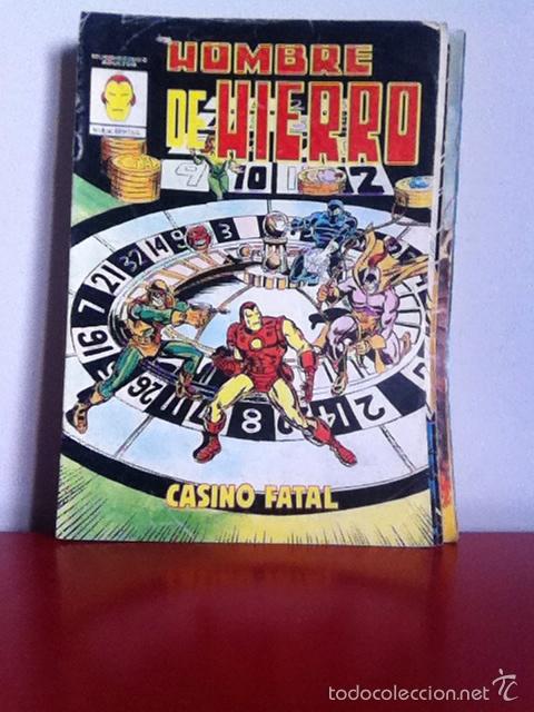 HOMBRE DE HIERRO N 4 MUNDICOMICS. VÉRTICE (Tebeos y Comics - Vértice - Hombre de Hierro)