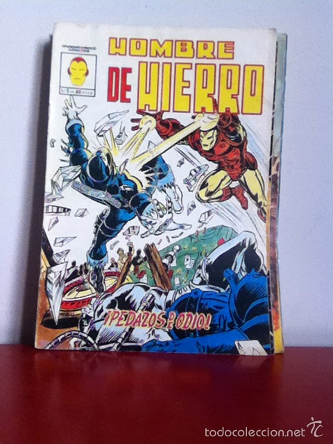HOMBRE DE HIERRO N 5. MUNDICOMICS. VÉRTICE (Tebeos y Comics - Vértice - Hombre de Hierro)