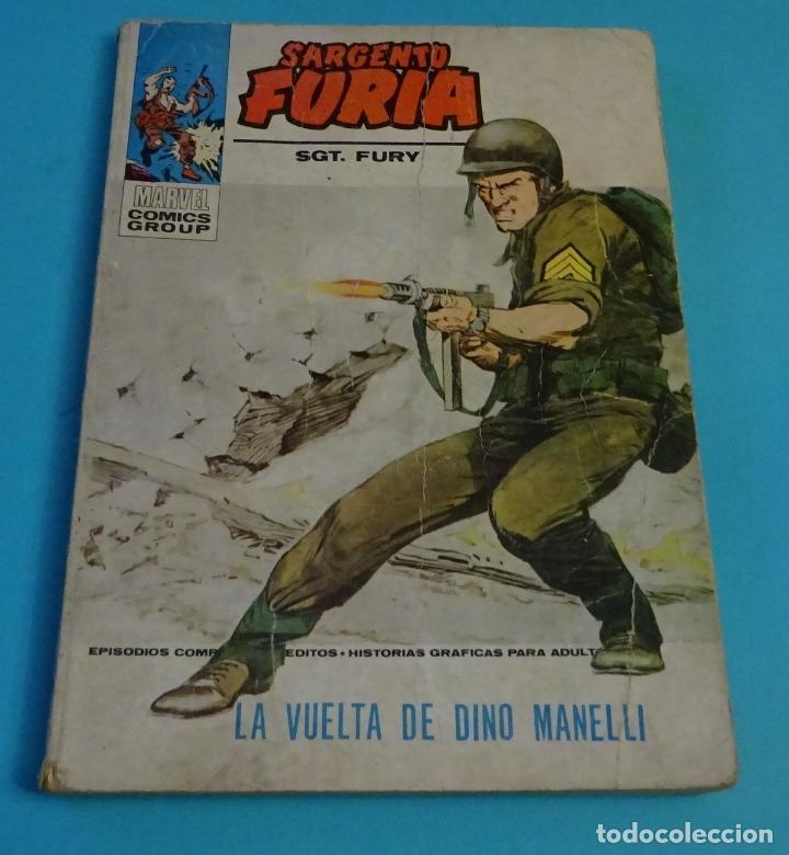 LA VUELTA DE DINO MANELLI. EL SARGENTO FURIA. SGT. FURY. Nº 21 (Tebeos y Comics - Vértice - Furia)