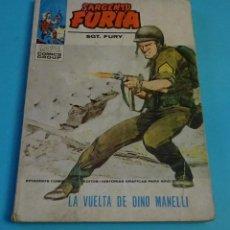 Cómics: LA VUELTA DE DINO MANELLI. EL SARGENTO FURIA. SGT. FURY. Nº 21. Lote 145952414