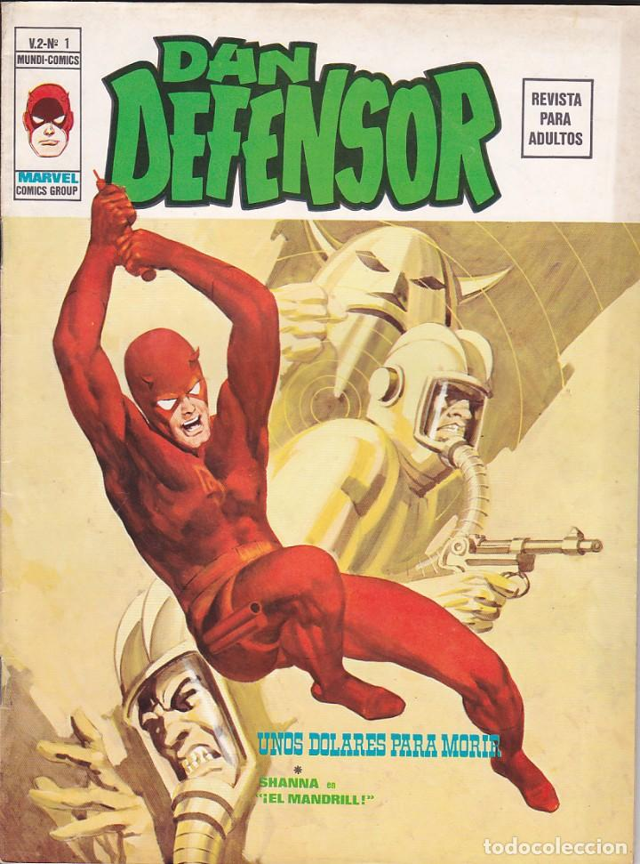 COLECCION COMPLETA DAN DEFENSOR VOL.2 5 EJEMPLARES (Tebeos y Comics - Vértice - Dan Defensor)