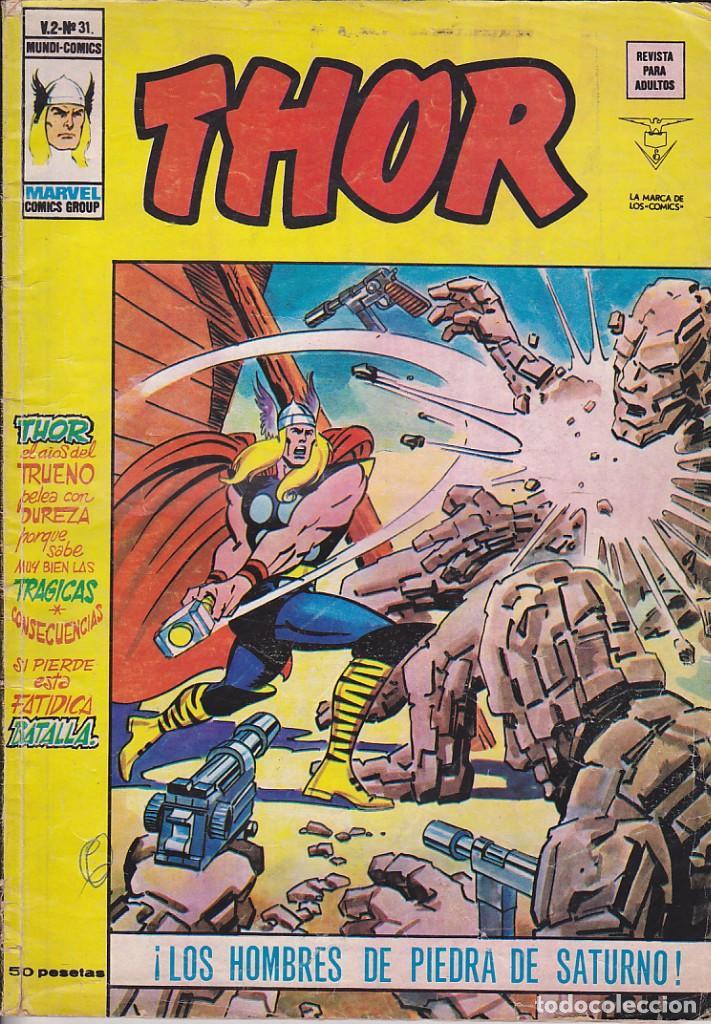 COMIC COLECCION THOR VOL.2 Nº 31 (Tebeos y Comics - Vértice - Thor)