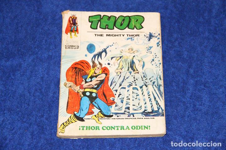 THOR Nº 39 (THOR CONTRA ODIN) EDICIONES VÉRTICE (1970) (Tebeos y Comics - Vértice - Thor)