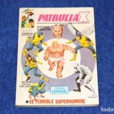 Cómics: PATRULLA X Nº 3 (EL TERRIBLE SUPERHOMBRE) EDICIONES VÉRTICE (1969). Lote 146122238