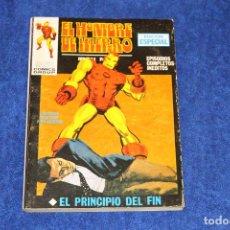 Cómics: EL HOMBRE DE HIERRO Nº 7 (EL PRINCIPIO DEL FIN) EDICIONES VÉRTICE (1970). Lote 146125254
