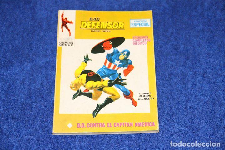 DAN DEFENSOR Nº 17 (D.D. CONTRA EL CAPITÁN AMERICA) EDICIONES VÉRTICE (1971) (Tebeos y Comics - Vértice - Dan Defensor)
