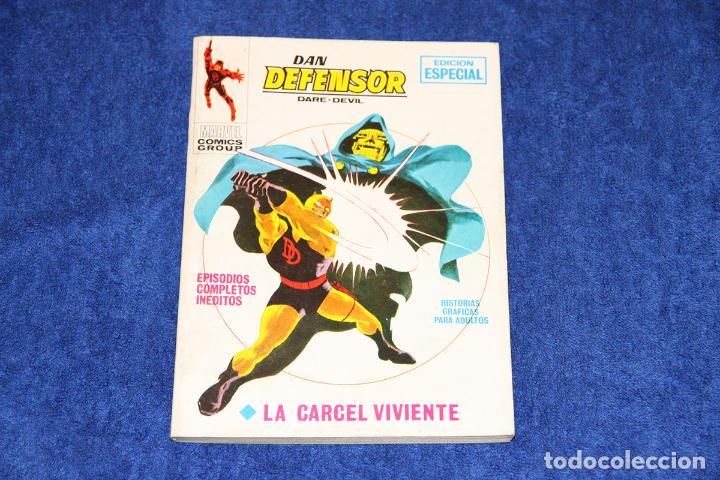 DAN DEFENSOR Nº 15 (LA CARCEL VIVIENTE) EDICIONES VÉRTICE (1970) (Tebeos y Comics - Vértice - Dan Defensor)