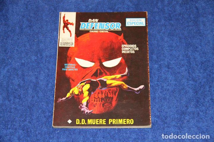 DAN DEFENSOR Nº 14 (D.D. MUERE PRIMERO) EDICIONES VÉRTICE (1970) (Tebeos y Comics - Vértice - Dan Defensor)