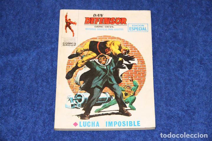 DAN DEFENSOR Nº 12 (LUCHA IMPOSIBLE) EDICIONES VÉRTICE (1969) (Tebeos y Comics - Vértice - Dan Defensor)