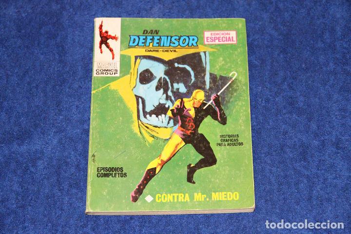 DAN DEFENSOR Nº 3 (CONTRA MR. MIEDO) EDICIONES VÉRTICE (1969) (Tebeos y Comics - Vértice - Dan Defensor)