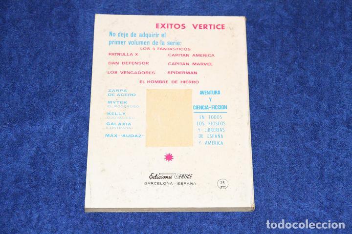 Cómics: DAN DEFENSOR Nº 3 (CONTRA MR. MIEDO) EDICIONES VÉRTICE (1969) - Foto 2 - 146127066