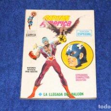 Cómics: CAPITAN AMÉRICA Nº 7 (LA LLEGADA DEL HALCÓN) EDICIONES VÉRTICE (1970). Lote 146127818