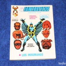 Cómics: LOS 4 FANTÁSTICOS Nº 22 (LOS INHUMANOS) EDICIONES VÉRTICE (1971). Lote 146127910