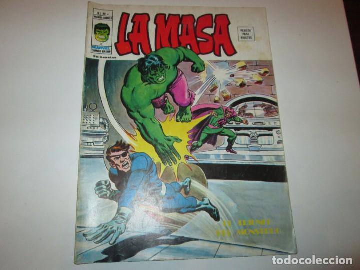 VERTICE ~ LA MASA ~ VOL 3 Nº 4 (Tebeos y Comics - Vértice - La Masa)